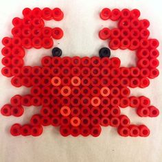 Crab hama beads by pparlplattan