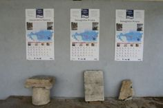 Some of the information signs in Bulgarian, English, and German placed at the ruins of the Ancient Roman city of Sexaginta Prista in Bulgaria's Danube city of Ruse as part of a joint cultural tourism project with Croatia, Romania, and Serbia. Photo: Ruse Regional Museum of History