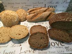 Cocina Fácil Sin Gluten: 3 panes, 3 migas!! Con mixes caseros sin gluten