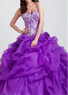 Stunning  Ball Gown Sweetheart quinceanera dress