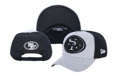 121d63fdd0c San Francisco Snapback NFL Snapbacks Baseball Caps New Era Gray Black 026