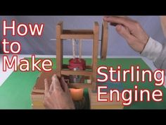 Jet engine, How to build and Wooden clock on Pinterest