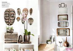 "I loved the apartment of Susanne Rützou, a fashion designer when I first saw the article in German magazine ""Schöner Wohnen"" months ago and I still love it."