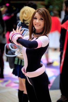 DaBerry Best Cosplays - Ochako Uraraka - Cosplay - My Hero Academia Uraraka Cosplay, Deku Cosplay, Cute Cosplay, Cosplay Outfits, Cosplay Girls, Anime Cosplay, Cosplay Costumes, Female Cosplay, Awesome Cosplay