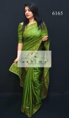 All Silk Sarees – Ashima Fashion Store Wedding Silk Saree, Sari Dress, Tussar Silk Saree, Saree Models, Work Sarees, Beautiful Saree, India Beauty, Saree Collection, Sarees Online
