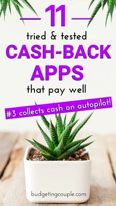 After in-depth testing, we've rounded up the BEST cash back apps of 2020 that pay well! These money saving apps are the perfect way to save money and live frugal without having to lift a finger. Cash back apps are our favorite frugal tip because they collect free money and extra cash on autopilot! Budgeting Couple   Budgeting Couple Blog   BudgetingCouple.com #apps #savemoney #hacks Save Money On Groceries, Ways To Save Money, How To Make Money, Best Money Saving Tips, Saving Money, Cost Saving, Money Hacks, Money Tips, Making A Budget