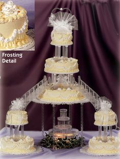 330 best cascading wedding cakes images tortilla pie fondant rh pinterest com