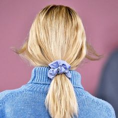 Scrunchies Are Officially Back, And We Feel Differently About This Than We Thought We Would