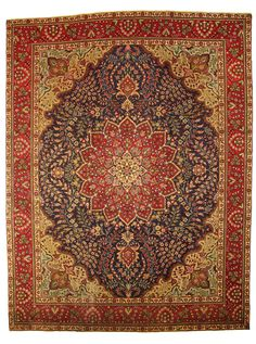 Antique Persian Tabriz Rug: http://www.atlantisrugs.com/antique-rugs/antique-persian-rugs/antique-persian-tabriz-rug-26#