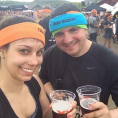 After completing my 3rd Tough Mudder in PA with my friend, Jessica!