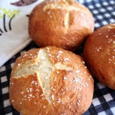 """Classic quick pretzel rolls that come straight out of the oven, because """"It seems almost impossible to find """"real"""" pretzels outside of Germany"""". Did you know the trick is you have to boil the pretzel first!?"""