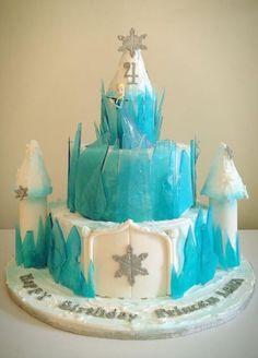 Inspiration for a Frozen Cake and Cupcakes , Novelty Cakes. www.sweetsecretsdubai.com