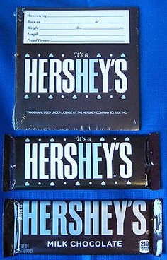 Baby Boy Birth Announcement, Birth Announcements, Baby Hospital Gifts, Hershey Candy Bars, Candy Bar Wrappers, Keepsakes, Baby Products, Boys, Souvenirs