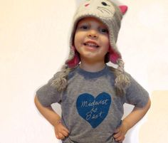 Hey, I found this really awesome Etsy listing at https://www.etsy.com/listing/122868529/kids-midwest-is-best-tshirt-in-tri-gray