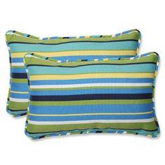 Pillow Perfect Pillow Perfect Topanga Throw Pillow (Set of 2)