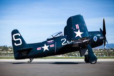 CAF's restored Grumman F8F-2 Bearcat. Commemorative Air Force