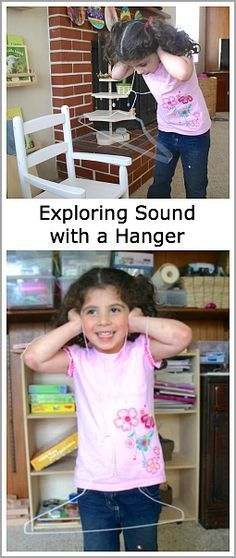 Science for Kids: Exploring Sound with a Hanger~ http://BuggyandBuddy.com