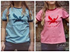 K didit: Shirts für Leserattenfreundinnen Klärchen by #allerlieblichst