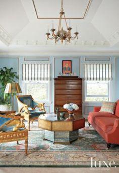 Multi-Colored Mediterranean Master Suite