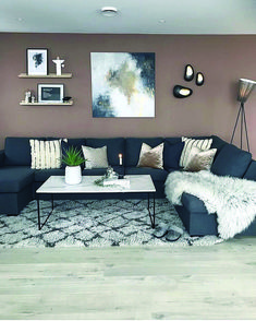 Perfect grey living room walls made easy
