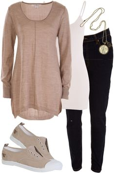 Casual Days Outfit includes Blank Canvas, Walnut, and Nest Of Pambula at Birdsnest Women's Fashion