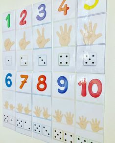 Affichage des chiffres 1️⃣2️⃣ #petitesection #moyennesection #grandesection #ecole #school #ecolematernelle #maternelle #maitresse #instit… Body Preschool, Numbers Preschool, Preschool Math, Kindergarten Math, Toddler Preschool, Math Activities For Toddlers, Math For Kids, Diy Classroom Decorations, Classroom Fun