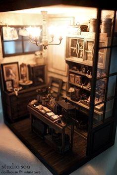 """""""mini vintage shop"""" by studio soo, via Flickr"""