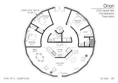 2,512 square feet Five bedrooms Three baths