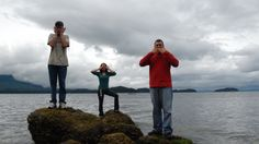 Hear no evil, See no evil and Speak no evil in Alaska
