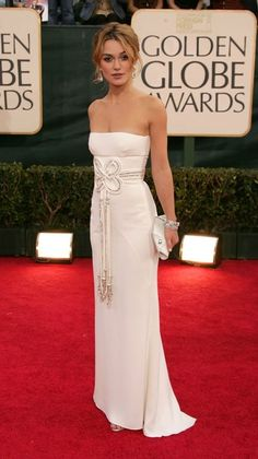 Keira Knightley arrives to the 63rd Annual Golden Globe Awards at the Beverly Hilton