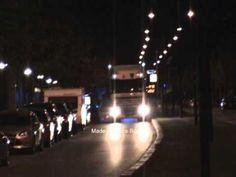 Brandweer van Bergen op Zoom TS 7234 onderweg naar een autobrand (+afspe...