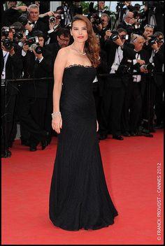Jour 2 - 65ème édition du Festival de Cannes  La lumineuse Virginie Ledoyen, actuellement à l'affiche du film de Benoit Jacquot, les 'Adieux à la Reine', qu'elle partage avec Léa Seydoux et Diane Kruger.