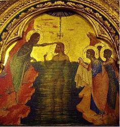 Paolo Veneziano (14th century), Baptism of Christ