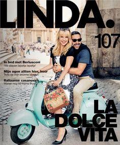 Linda en La dolce vita   Italië dichtbij   Ciao tutti - ontdekkingsblog door Italië Rome, Good Things, Magazine, Vespa, Wasp, Hornet, Vespas, Magazines, Rum