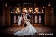 Lovely Kiss in front of Liuna Station's Grand Central Ballroom. Photo Location, Wedding Season, Photo Credit, Your Photos, Wedding Photos, Wedding Decorations, Wedding Photography, Wedding Dresses, Hamilton Ontario