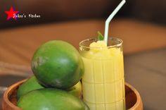 Welcome to Jinkzz's Kitchen: Green Mango Shake
