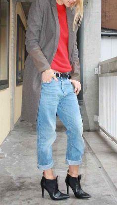 1aafcb13b5 93 Best Boyfriend jeans images