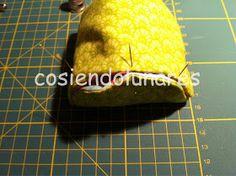 cosiendolunares - costura y patchwork: Tutorial monedero japonés Singular, Frame Bag, Sewing Patterns, Bags, Food, Coin Wallet, Scrappy Quilts, Coin Purse Tutorial, Drip Tip