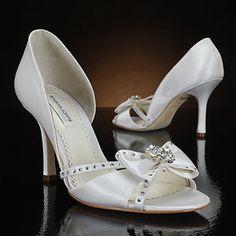 benjamin adams tyler white & ivory  Wedding Shoes