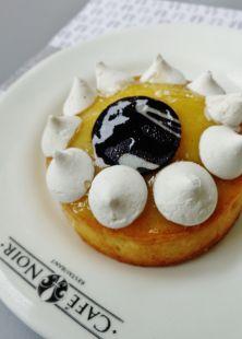 The Lemon Meringue Pie by Chef Bruno at Cafe Noir Bangalore