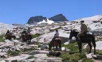 Mammoth Lakes, California Horseback Riding Eastern Sierra Nevada
