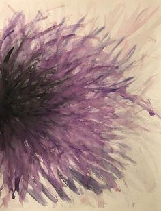 "Madison Bishop - original - ""growth through darkness"" - watercolor collection  find more at madesbish.tumblr.com and https://www.pinterest.com/madbish/madesbish-art/"