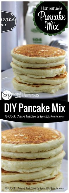 Old fashioned homemade pancakes recipe pancakes homemade and this diy pancake mix recipe is easy to make with ingredients you already have on hand ccuart Choice Image