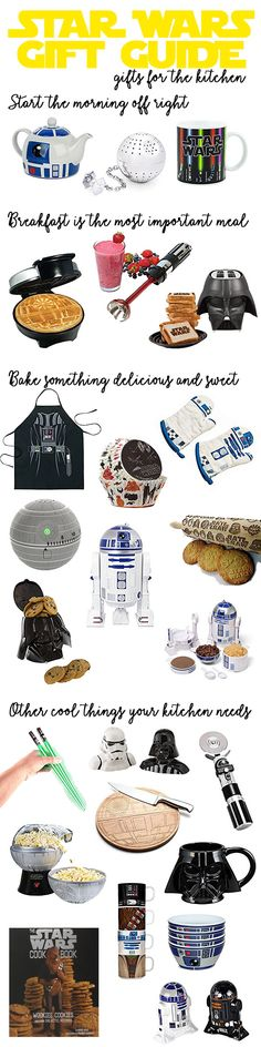 Star Wars gifts that will make the kitchen your own galactic empire! Vader waffles and tea infused by the Death Star is the perfect way to start your day!