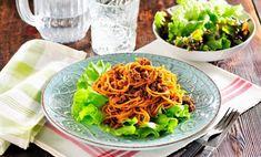 Köttfärssås med pasta