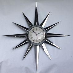 A nice atom starburst clock