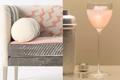 January's color is effervescent and downright bubbly... pink champagne