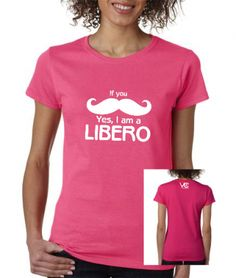 This shirt is for liberos and defensive specialists | Libero ...