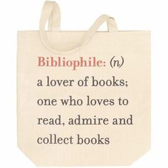 Bibliophile Tote