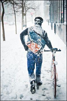 projectmessenger: benoit / snowstorm